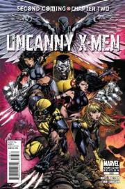 Uncanny X-Men #523 Finch Retail Variant 1:25 Second Coming (2010) Marvel comic book